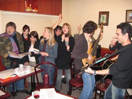 31 mars 2007, réunion HFT (2ème album)