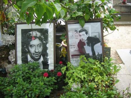 Encore la tombe de Gainsbourg
