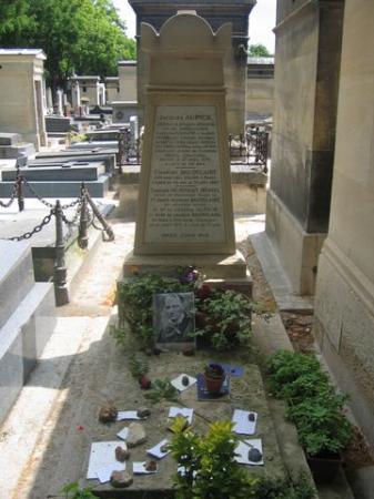 La tombe de Charles Baudelaire